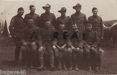 Super portrait Soldier group Dorset Yeomanry Weymouth