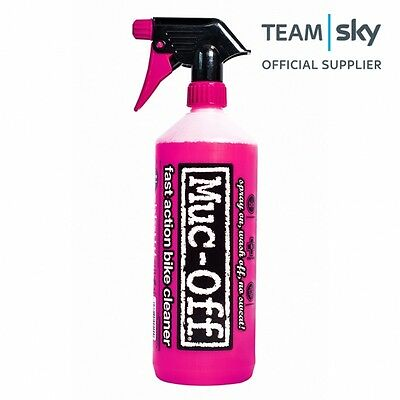 Muc-Off Nano Tech Bike Cycle Cleaner Spray 1 Litre - Fast Action Cleaning!