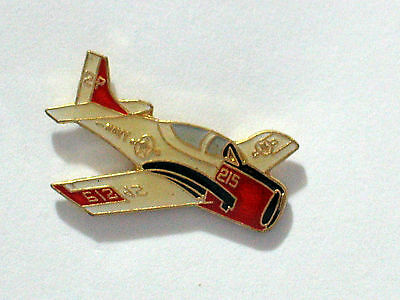 Hat Tie Tac Pin Airplane T-2 Buckeye Trainer NEW