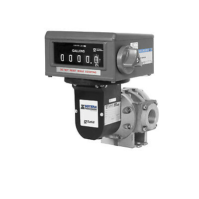 Fill-Rite TS15AV04ATCIMXAXX 15 GPM 1.5-Inch High Viscosity Gallon Flow Meter