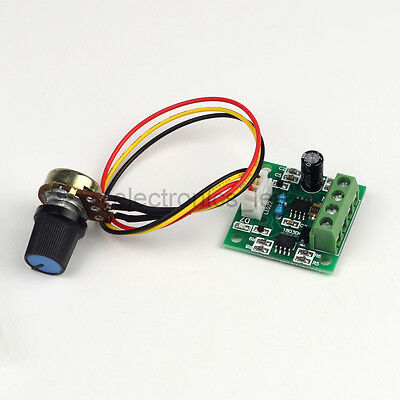 Micro DC 12V 6V 3V 1.8V 2A PWM Driver Board Speed Controller Regulator Board