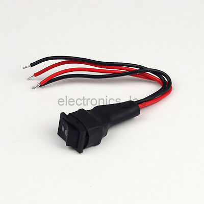 Motor Inverted Forward Reverse Switch DC Polarity Third-gear Switch for PWM