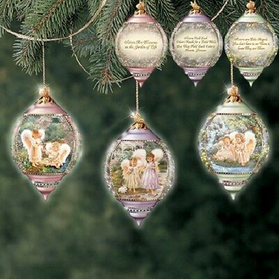 Sisters are Angels set of Three Ornaments  - Bradford Exchange