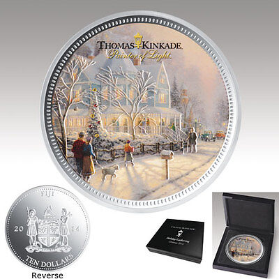 Holiday Gathering Collectible Coin Thomas Kinkade