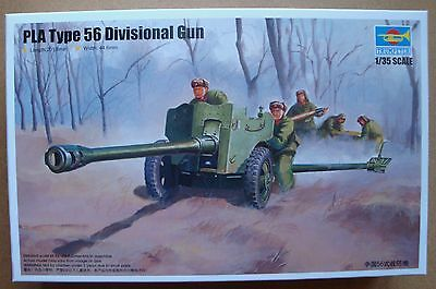 TRUMPETER® 02340 Chinese Type 56 Divisional Gun in 1:35