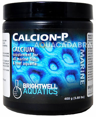 BRIGHTWELL AQUATICS CALCION-P 400g SUPPLEMENT CALCIUM FISH TANK AQUARIUM MARINE