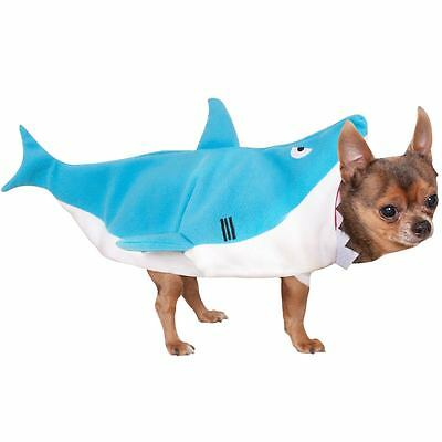 Pet Dog Cat Shark Bite Animal Halloween Fancy Dress Costume Outfit Clothes S-XL