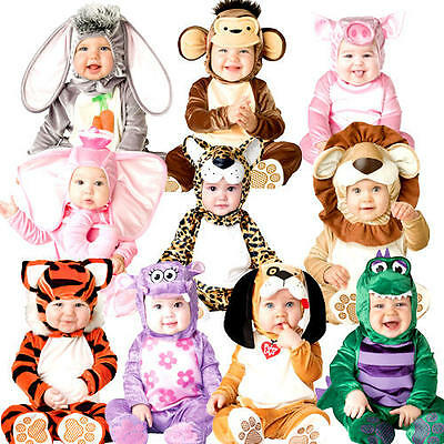 Animal Toddler 0-24 Months Fancy Dress World Book Day Baby Childs Costumes New