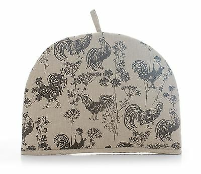 Rushbrookes Vintage Roosters Chicken Print, 6 Cup Tea Cosy Cozie