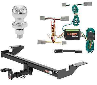 """Curt Class 2 Trailer Hitch Tow Package w/ 2"""" Ball for Mazda CX-5"""