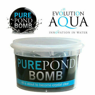Evolution Aqua Pure Pond Bomb - Pond Water Clarity - Filter Cycle Start Media