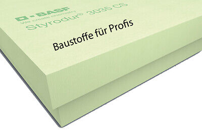 1 Pack original BASF Styrodur 3035CS 80mm 3,75m² XPS WLG035