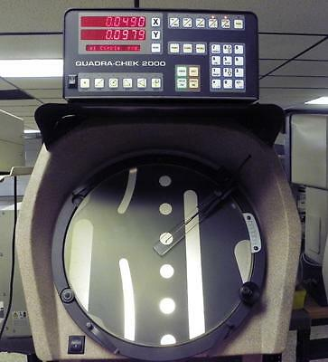 """14"""" S-T Industries / Scherr-Tumico 20-3500 Optical Comparator with QC2000 DRO"""