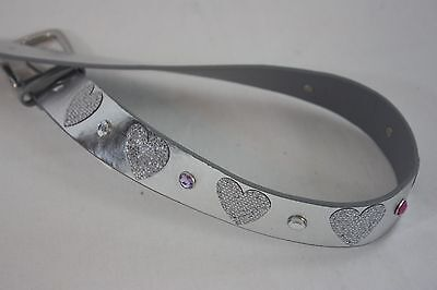 Belt Silver Heart The Children's Place SZ 6-18M NEW NWT