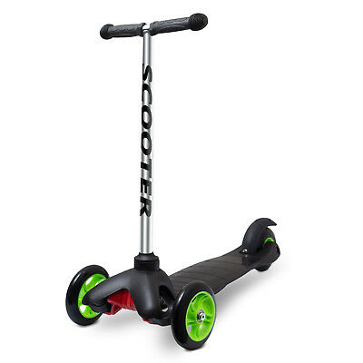 OxGord Scooter for Kids - Deluxe 3 Wheel Glider with Kick n Go Lean 2 Turn