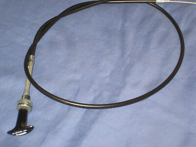 Mg    Mgb Roadster  Or Gt T  Pull  Choke Cable 1976 On               F3  ***