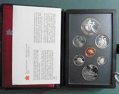 Canada - 1983 Proof Double Dollar Proof Set in Case