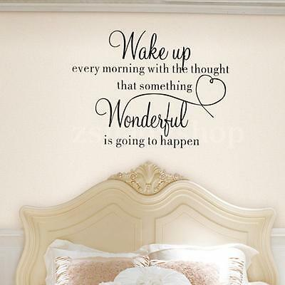 Removable Family Quote Wall Sticker Decal Mural DIY Art Vinyl Bed Bedroom Decor
