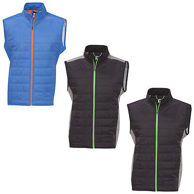 Footjoy Mens Softshell Hybrid Vest - New Golf Bodywarmer Sleeveless Top Fj 2015