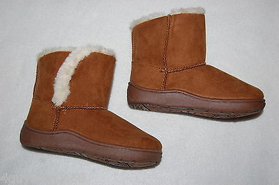 Baby Gap NWT Preschool Girls 8 9 10 Faux Suede /& Sherpa Short Pull On Boots