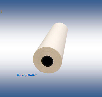 "2 Rolls of 36"" x 300' CAD Plotter Paper - 20 lb Premium Bond with 2"" Core"