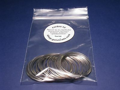 3 feet Cardas Tri RoHS Eutectic Silver Solder ~ Out of Production From Cardas