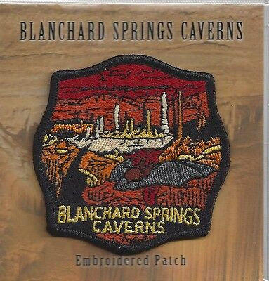 Souvenir Cave Patch - Blanchard Springs Caverns, Arkansas