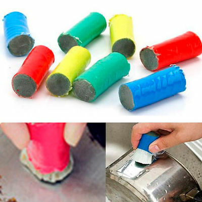 Magic Stainless Steel Rust Remover Cleaning Detergent Stick Metal Wash Brush