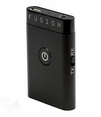 NEW Fusion Wireless Bluetooth Audio Music Adapter Transmitter and Receiver