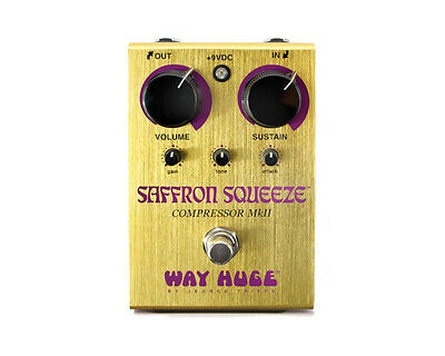 Way Huge WHE-103 Saffron Squeeze Compressor Pedal