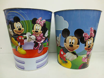 Disney Mickey/minnie Mouse & Friends Novelty Metal Bin   Style - 077/638
