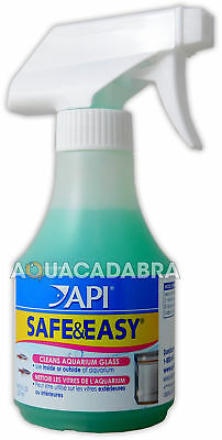 Api Safe & Easy Aquarium Glass Acrylic Spray Cleaner Inside & Out Fish Tank