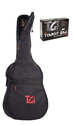 TGI 4/4 39'' Classical Acoustic Guitar 10mm Padded Gig Bag Carry Case Gigbag New