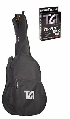 TGI 4/4 41'' Acoustic Dreadnought Guitar Gig Bag Carry Case Gigbag - New