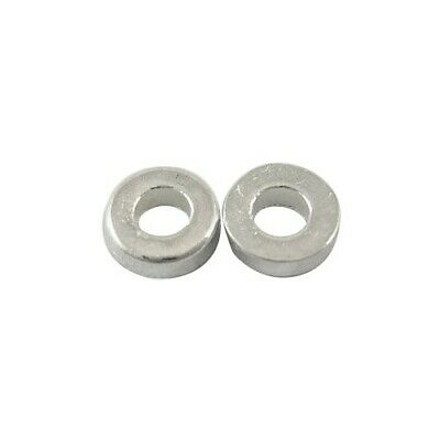 Packet of 30 x Antique Silver Tibetan 6mm Donut Spacer Beads HA15250