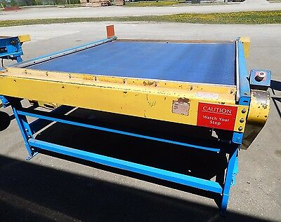 "Prime Conveyor Inc. Plastic Belt Conveyor Belt 66""WX71-1/2""L(71.5"") 3/4HP Motor"