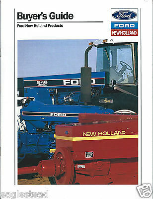Farm Equipment Brochure - Ford New Holland - Product Line Overview 1990 (F4352)