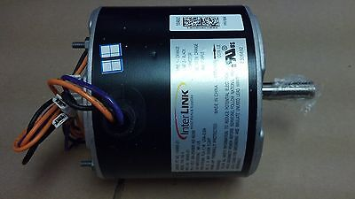 Fan Motor, Condenser, AIR CONDITIONER MOTOR, 1/5 HP, 208/230/1,
