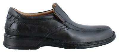 Clarks Escalade Step Slip On  Shoe Leather Mens Dress Shoes Low Heel