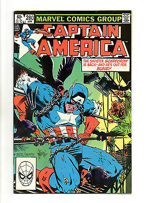 Captain America Vol 1 No 281 May 1983 (VFN+ to NM-)