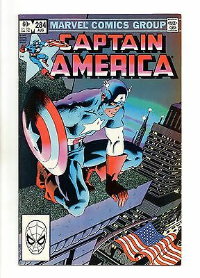 Captain America Vol 1 No 284 Aug 1983 (VFN+ to NM-)