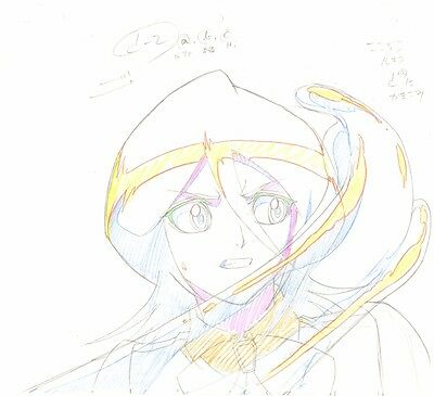 Anime Genga not Cel Production Art Bleach #407