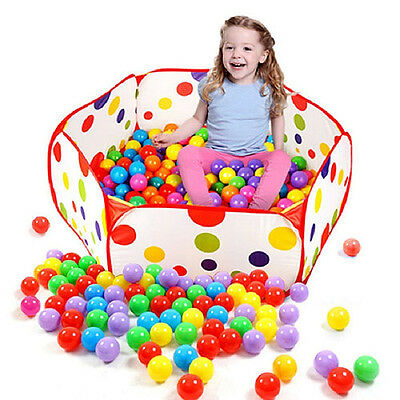 Ocean Ball Pit Pool Playhut Outdoor Indoor Childrens Toy Tent Portable Kids Room