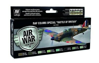"Vallejo Model Air Set - RAF & FAA Special ""Battle of Britain"" WWII - VAL71144"