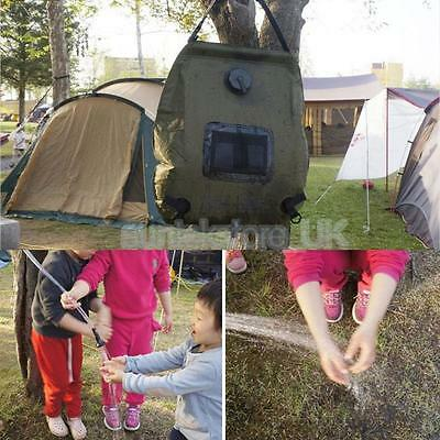 Outdoor 20L Solar Self Heating Camping Shower Bag PVC Portable Water Pipe
