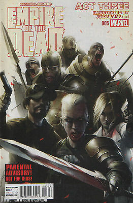 George A. Romero's Empire of the Dead Act 3 Issue 5 - Marvel Comics 2015