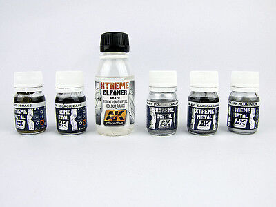 AK Interactive - 30ml Extreme Metal Paints - Choice Of Effects