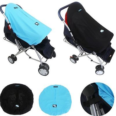 Upscale Baby Stroller Mosquito Insect Net Pushchair Sunshade Windshield Cover