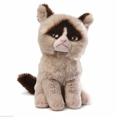 "9"" Grumpy Cat Stuffed / Plush Beanbag  - Enesco"
