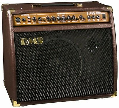 RMS AC-40 40-Watt Acoustic Guitar Amplifier Amp with Mic/Microphone Input